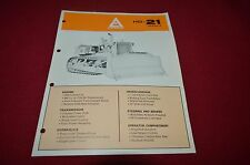 Allis Chalmers HD-21 Series B Crawler Dozer Dealer's Brochure YABE11