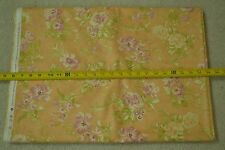 """By-the-Half-Yard, 44"""", Floral on Lt-Orange Quilter's Cotton, Moda/Fig Tree M5369"""