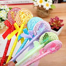 Stylo Bille Sucette Lollipop Decorated Cadeau Pour Enfant Couleur Hasard Mignon