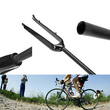 Carbon Fiber Glossy 700C Fixed Gear MTB SCE Suntour Fork Downhill Bicycle Parts