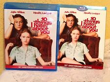 10 THINGS I HATE ABOUT YOU BLU-RAY 1999 TEEN ROMANTIC COMEDY MOVIE 10TH ANNIV ED