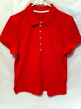Women's Tommy Hilfiger Red Polo Short Sleeve Collared Shirt Lot (64 Total)