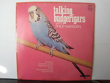 Talking Budgerigars with PHILIP MARSDEN Philips Records Vinyl LP FREE UK POST
