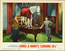 LAUREL AND HARDY original MGM lobby card WRONG AGAIN 11x14 movie poster