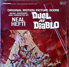 DUEL AT DIABLO - NEAL HEFTI - UNITED ARTISTS - STEREO LP - STILL IN SHRINK WRAP