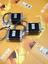 3PCS Nema23HS8430 Hybrid stepper motor t 270oz.in=1.9NM  76mm 3A CNC router