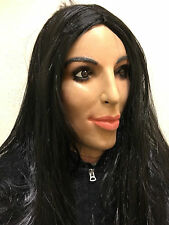 Deluxe Kim Kardashian Mask Overhead Latex Kardashians TV Fancy Doll Kanye Masks