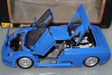 Maisto 1:18 Scale 1992 BUGATTI EB110 (BLUE)