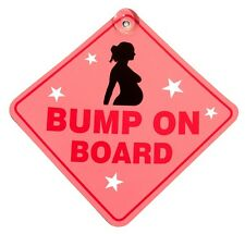 Suction Cup Diamond Sign - Pink - Bump On Board- CASTLE PROMOTIONS- DH39