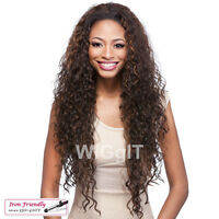 VANTAGE | HALF WIG | BLACK/BROWN/HIGHLIGHTS | LONG CURLY SYNTHETIC | IT'S A WIG