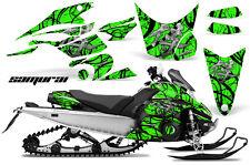 Yamaha FX Nytro 08-14 Graphics Kit CreatorX Snowmobile Sled Decals SAMURAI BG