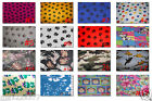 "POLAR fleece ANIMAL baby paw puppy dog zebra zoo Print FABRIC 2 yards 72""X60"""