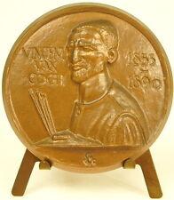 Médaille hommage au peintre dutch Vincent van Gogh 1855-1890 62 mm sc Metz medal