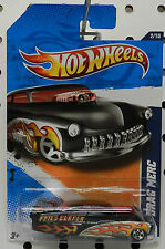 49 MERC 1949 MERCURY DRAG RACE CAR BLACK PHILS 2011 122 STREET ROD HW HOT WHEELS