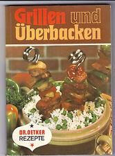 Dr. Oetker - Grillen und überbacken von 1969
