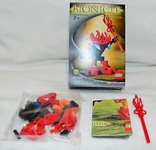 LEGO Bionicle Bohrok Va Tahnok Va (8554) Open Box in Sealed Bag_ Free Shipping