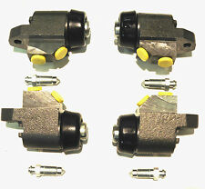 SET OF 4 FRONT BRAKE WHEEL CYLINDERS FOR CLASSIC MINI 1969 -1984 ALL MODELS