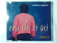 MASSIMO CAGGIANO Ora che ci sei cd singolo PR0M0 SANREMO 97 COME NUOVO LIKE NEW