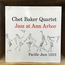 Chet Baker Quartet Jazz at Ann Arbor LP World Pacific Records PJ 1203 V-5510-621