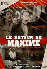 LE RETOUR DE MAXIME / BORIS TCHIRKOV - VALENTINA KIBARDINA DVD NEUF/CELLO