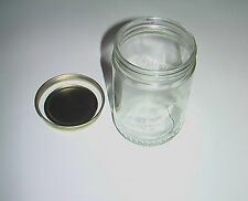 Small 16 oz 1 pint Glass Jars for storage repurpose reuse
