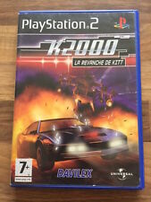 PS2:    K 2000 LA REVANCHE DE KITT    PAL