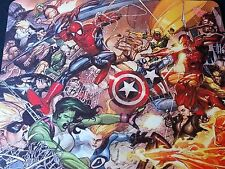 MARVEL CIVIL WAR ! comics Anti slip optical COMPUTER MOUSE PAD 9 X 7inch