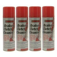 Polygard Brake And & Clutch Cleaner 4 Cans 400ml Bf03725