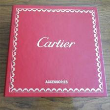 Cartier Accessories Catalog Binder Stunning AD May 2008 Product List  99% New