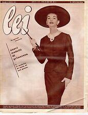 rivista LEI ANNO 1954 NUMERO 11