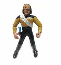 "Vintage Star Trek Movie 5 ""Worf Klingon Figura De Acción Playmates"