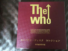THE WHO,Collection,2 CD Box Set,Japan Only(Limited Of 1000),Neuwertig,Superrar!!