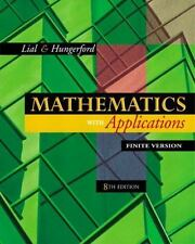 Mathematics with Applications, Finite Version (Chapters 1-10) (8th Edition)