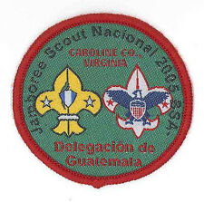 2005 Boy Scouts of America National Scout Jamboree Guatemala Contingent Patch