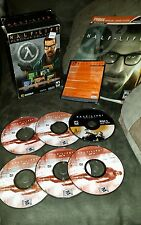 Half-Life 2 Full Strategy Guide (2004, Paperback) + Discs 1-5 + Disc 5 GOY