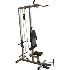Valor Fitness CB-12 Plate Loading Lat Pull Down Total Body Gym New