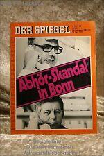 Der Spiegel 25/75 16.6.1975Abhör Skandal in Bonn