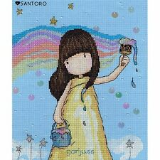 Bothy threads Santoro Gorjuss arc-en-ciel rêves Compté Cross Stitch Kit xg32