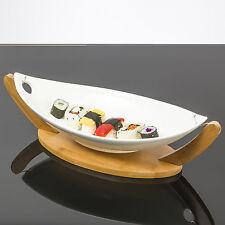 Phuket Boot-Stil groß Keramik Servierteller für Haupt Vorspeisen