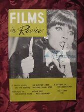 FILMS in REVIEW May 1965 37th Academy Marisa Mell Max Under Mercedes Mccambridge