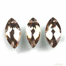 150x Embellishment Faceted Horse Eye Sew-on Flatback Button 15mm Findings L