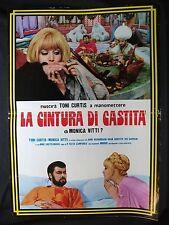 LOCANDINA CINEMA - LA CINTURA DI CASTITA' - TONI CURTIS - 1967 - COMICO - 01
