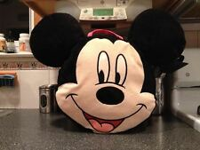 Large Disney Mickey Mouse Plush Doll Carry All Overnight Bag Sack Pouch Carrier
