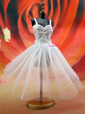 Lovely Dancing Dress Fashion Beauty Gown Skirt Clothes Acces For Barbie Doll G23