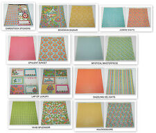 LOT BOHEMIAN BAZAAR GRAPHIC 45 12 x 12 DESIGNER PAPER CARDSTOCK STICKER SHEET