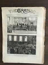"""""""THE GRAPHIC"""" (A Beautifully Illustrated British Weekly Newspaper)--Oct.8, 1881"""