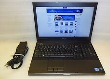 Dell Precision M4600 2.4ghz 2760QM Quad Core i7 8GB Ram 320GB DVD Win 10 Pro x64