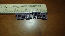 POLICE  COLLAR PINS T.P.D POLICE DEPARTMENT PINS  BX 0 #13