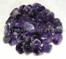 15 x Amethyst Tumblestones A Grade Crystal Gemstone 14mm to 16mm Wholesale Bulk