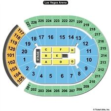 2 FRONT ROW FLOOR TICKETS Ed Sheeran Las Vegas Friday 8/4/17 T-Mobile Arena